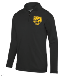 Quarter Zip Black UA Bear Pullover